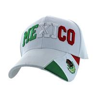 VM001 Mexico Velcro Cap (Solid White)