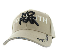 VM024 God With No Fear Velcro Cap (Solid Khaki)