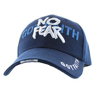 VM024 God With No Fear Velcro Cap (Solid Navy)