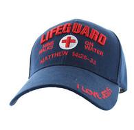 VM007 Life Guard Velcro Cap (Solid Navy)