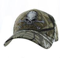 VM021 Skull Velcro Cap (Solid Hunting Camo)