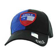 VM190 Chile Velcro Cap (Black & Royal Blue)