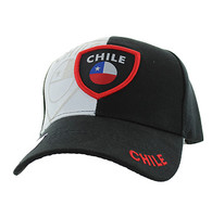 VM190 Chile Velcro Cap (Black & White)