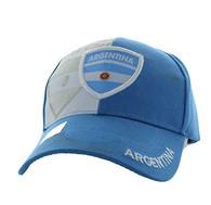 VM190 Guatemala Velcro Cap (Sky Blue & White)