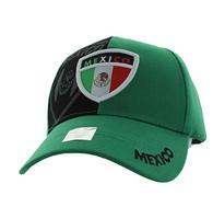 VM190 Mexico Velcro Cap (Kelly Green & Black)