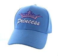 VM167 Princess Velcro Cap (Solid Sky Blue)