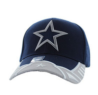 VM421 Big Star Velcro Cap (Navy & Light Grey)