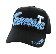 VM144 Tennessee Velcro Cap (Solid Black)