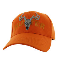 VM585 Hunter Velcro Cap (Solid Orange)