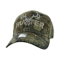 VM585 Hunter Velcro Cap (Solid Hunting Camo)