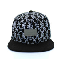 SM506 Real Good Snapback (Black & Black)