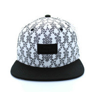 SM506 Real Good Snapback (White & Black)