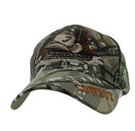 VM382 Cowboy Velcro Cap (Solid Hunting Camo)