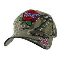 VM154 Dixie Girl Velcro Cap (Hunting Camo)