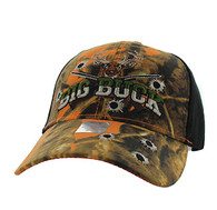 VM555 Big Buck Velcro Cap (Orange Camo & Black)
