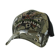 VM555 Big Buck Velcro Cap (Hunting Camo & Black)