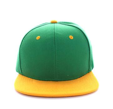 de1ed389a885f SP018 Two Tone Snapback Cap (Kelly Green   Gold) - Ace Cap