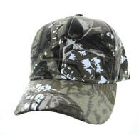 VP019 Blank Baseball Velcro Cap (Solid Hunting Camo)