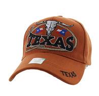 VM472 Texas Velcro Cap (Texas Orange)