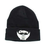 WB040 Chopper Long Beanie (Solid Black)