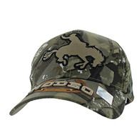 VM212 Rodeo Horse Rider Velcro Cap (Solid Hunting Camo)