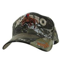VM336 Rodeo Bull Rider Velcro Cap (Solid Hunting Camo)