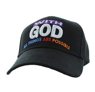 VM301 With God Velcro Cap (Solid Black)