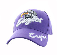 VM359 Eagle Velcro Cap (Solid Purple)