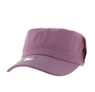 VP085 Washed Cotton Castro Caps (Light Pink)