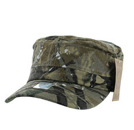 VP085 Washed Cotton Castro Caps (Hunting Camo)