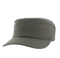 VP085 Washed Cotton Castro Caps (Khaki)
