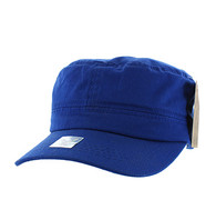 VP085 Washed Cotton Castro Caps (Royal Blue)
