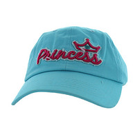 BM619 Princess Cotton Buckle Cap (Solid Sky Blue)
