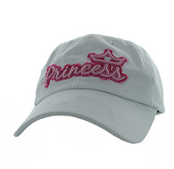 BM619 Princess Cotton Buckle Cap (Solid White)