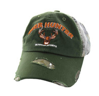 VM620 Deer Hunter Cotton Buckle Cap (Olive & Hunting Camo)