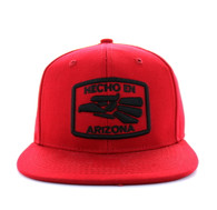 SM617 Arizona State Cotton Snapback (Solid Red)