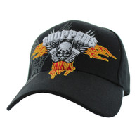 VM258 Choppers Velcro Cap (Solid Black)