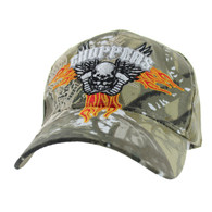 VM258 Choppers Velcro Cap (Solid Hunting Camo)