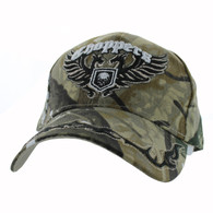 VM639 Choppers Velcro Cap (Solid Hunting Camo)