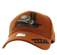VM382 Texas Velcro Cap (Solid Texas Orange)
