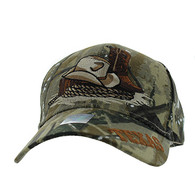 VM382 Texas Velcro Cap (Solid Hunting)