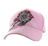 VM635 Dream Catcher Velcro Cap (Solid Light Pink)