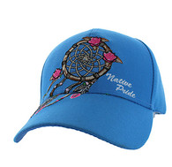 VM635 Dream Catcher Velcro Cap (Solid Sky Blue)