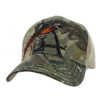 VM570 Outdoor Sports Velcro Cap (Hunting Camo & Khaki)