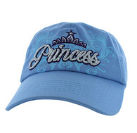 BM339 Princess Cotton Buckle Cap (Solid Sky Blue)