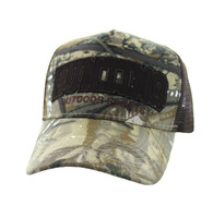 VM662 Hunting Outdoor Sports Velcro Cap (Hunting Camo)