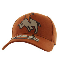 VM213 Rodeo Velcro Cap (Solid Texas Orange)