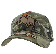 VM213 Rodeo Velcro Cap (Solid Hunting Camo)