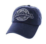BM701 Alabama State Washed Cotton Polo Cap (Solid Navy)