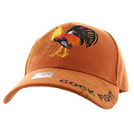 VM274 Cock Velcro Cap (Solid Texas Orange)